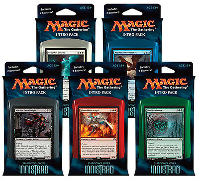 Magic the Gathering Shadows Over Innistrad Intro Pack MtG Trading Card Game