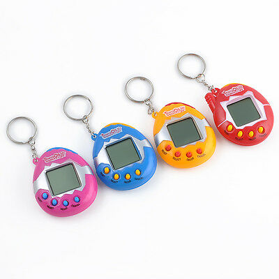 HOT Creative 49 Pets in One Virtual Cyber Pet Toy Funny Tamagotchi Send Random