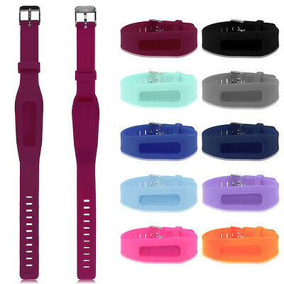 Hot Replacement Wrist Band With Metal Buckle For Fitbit One Bracelet Wristband