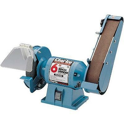 "Bench Grinder With 2"" Inch Sanding Belt Clarke CBG6SB"