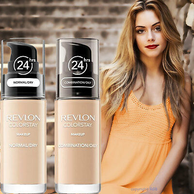 Revlon ColorStay Make Up Foundation MIT PUMPE combi/oily Skin und Dry Skin
