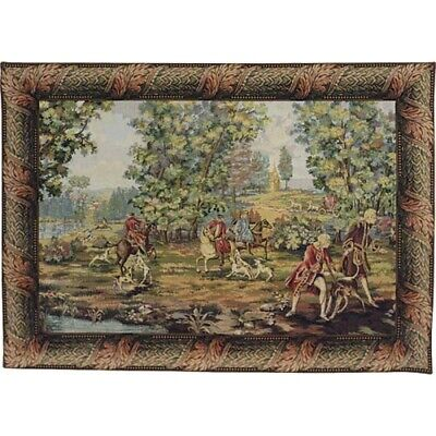Louis XV Hunting 02 Tapestry Wall Hanging
