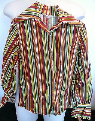 Vintage Children's Girls Clothes Tops By Squire Top Size 9 -10