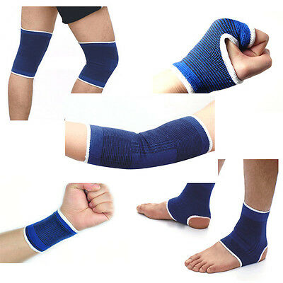 Knee Wrist Palm/Wrist Ankle Elastic Band Support Brace Gym Sports