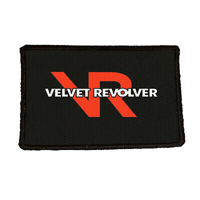 VELVET REVOLVER Embroidered Rock Band Iron On or Sew On Patch UK SELLER Patches