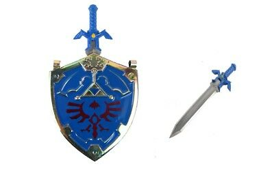 Hylian Shield and Master Sword from the Legend of Zelda Necklace Brand New