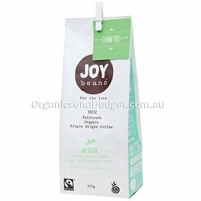 Joy Beans Mexican Medium Roast (Ground) 225g