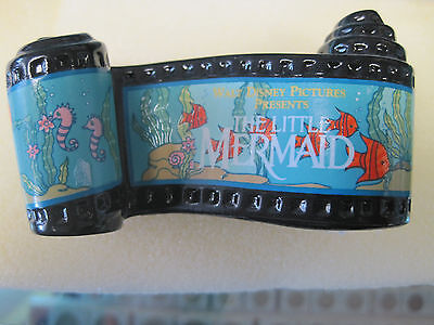 WDCC Disney LITTLE MERMAID Opening Title Film Scroll Ceramic Figurine