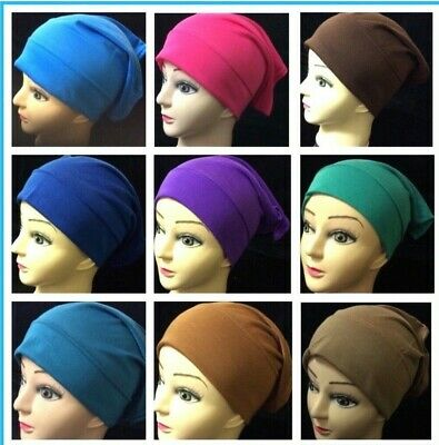 Muslim Kids Girls Ladies Readymade Hijab Under Tube Bonnet Hijab Under Scarf Cap