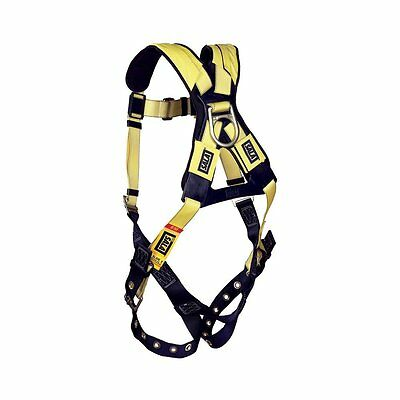 DBI/Sala 1101252 Delta Vest Style Full Body Harness, Extra Large Fall Protection