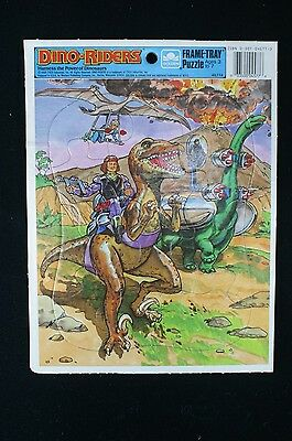 Tyco 1988 Dino Riders Puzzle Harness The Power Of Dinosaures