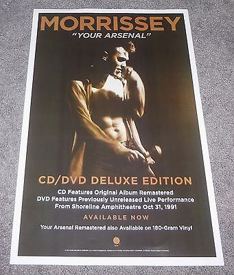 MORRISSEY YOUR ARSENAL 11x17 inch PROMO POSTER THE SMITHS