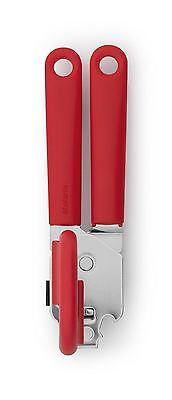 Brabantia Classic Can Tin Opener With Red Sturdy Plastic Handle 106309