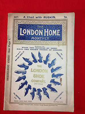 Vintage Magazine : THE LONDON HOME MONTHLY : October 1895