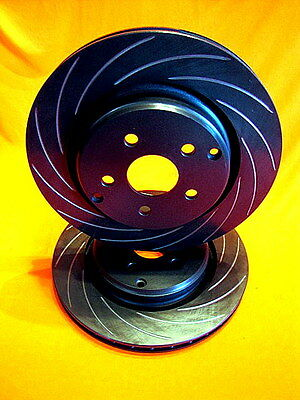 VE HSV GTS R8 MALOO CLUBSPORT VMAX SLOTTED REAR Disc Brake Rotors 350mm PAIR
