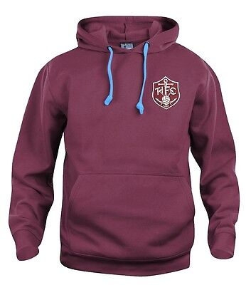 Thames Ironworks 1895- West Ham Football Hoodie Embroidered Logo Sizes S-XXXL