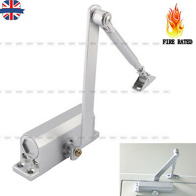 25-80 Kg Door Opener Closer Adjustable Heavy Duty Fire Rated Overhead Soft Close