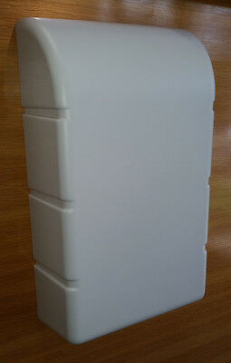 Wall Mounted Ironing Board Front White Plastic Cover