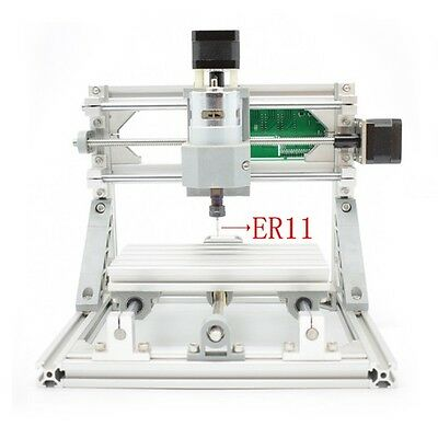 Hobby CNC 3 Axis Engraver Machine DIY PCB Mill Wood Router Milling Carving Kit
