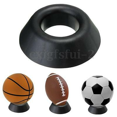 Ball Stand Display Rack Basketball Football Soccer Rugby Support Base Holder Hot