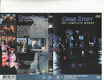Crime Story:The Complete Works-1987-Dennis Farina-[98 Minutes]-Movie-DVD