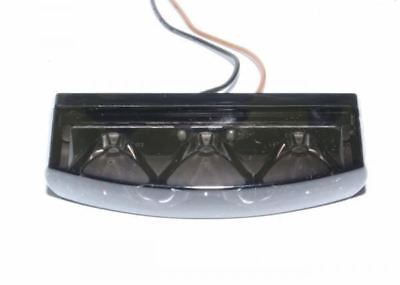 Universal Motorcycle Mini LED Rear Tail Light with Smoked Lens
