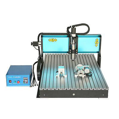 MT8 110V 800W 4 AXIS CNC 6090 Router Engraving Drilling Milling Machine USB Port