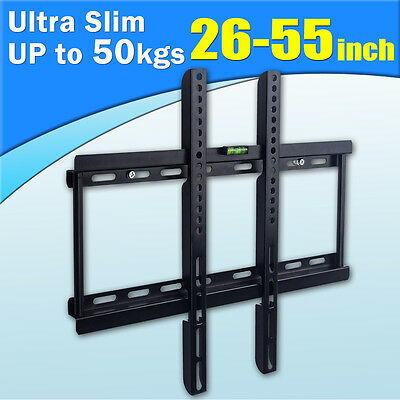 "26""-55"" Inch Universal TV Wall Mount Bracket LED LCD 3D PLASMA TV SAMSUNG SONY"