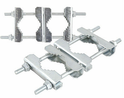 AERIAL SATELLITE POLE CLAMPS (200mm)