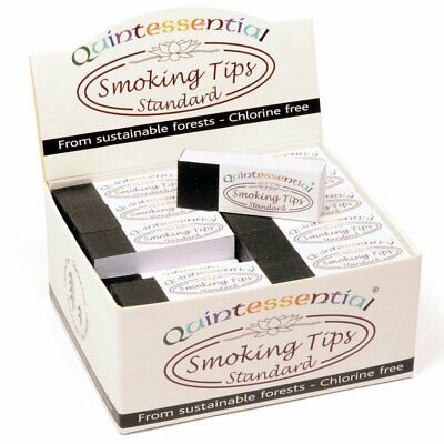 Quintessential White Filter Tips Roaches Smoking Card Rolling Standard 1 5 10 50
