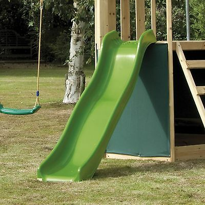 Green Wavy Slide Body - TP Activity Toys/ for playframes, playhouses, etc..
