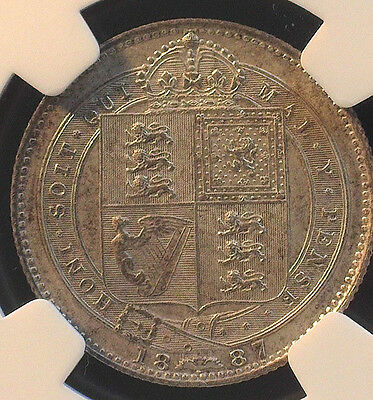 Great Britain 1901 One Penny Ngc Ms 63 Bn