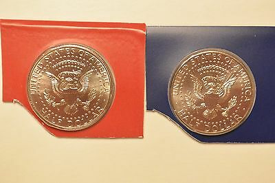 2016 P & D Kennedy Half Dollar Two Coin Uncirculated Set From US Mint Set