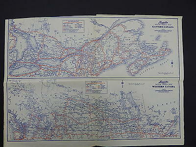 Vintage Maps, Motor Club, 1930's Langwith's #07