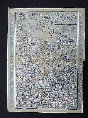 Vintage Maps, Motor Club, 1930's Langwith's #12