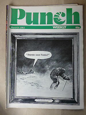 PUNCH MAGAZINE 9th MARCH 1983 Birthday Present Idea CAPTAIN OATES Image
