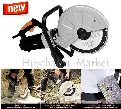 Concrete Cutter Construction Electric Heavy Duty Masonry Evolution Power Tools