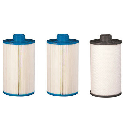 210 x 125mm 3 Spa Filter Kit For Vortex and O2 Spas