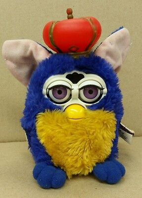 VINTAGE FURBY YOUR ROYAL MAJESTY LIMITED EDITION of 136k Crown 2000 w/ Tag