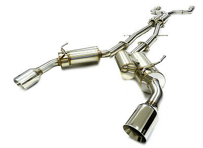 HKS FULL DUAL Series 304 SS Cat-Back Exhaust System for 14