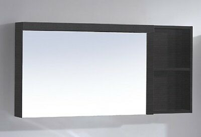 900 x 550 x 138 mm Licorice Edge Shaving Cabinet Mirror Clearance Sale