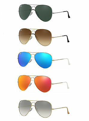 RAY-BAN AVIATOR RB3025 Sunglasses: Your Choice in Color
