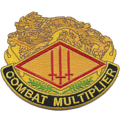 13th Finance Group Crest Patch