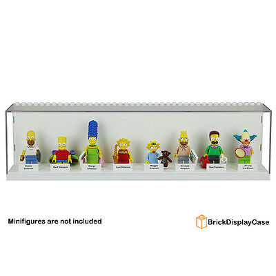 Display Case for Lego Simpons minifigures series Bart Homer Marge Lisa Maggie 2