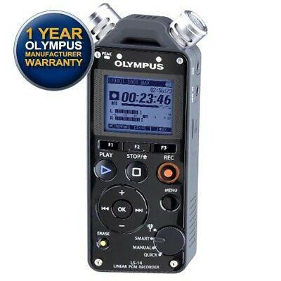 Olympus LS-14 Sound & Voice Recorder (4GB)(LS14) with GEN OLYMPUS WARRANTY