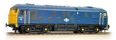 Bachmann 32-431DC DCC FITTED Class 24 24077 BR Blue Livery New Boxed - T48 Post