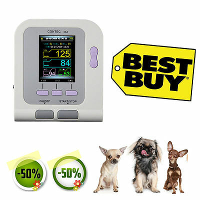 US Seller, Veterinary Digital Blood Pressure Heart Beat Monitor NIBP PR CONTEC