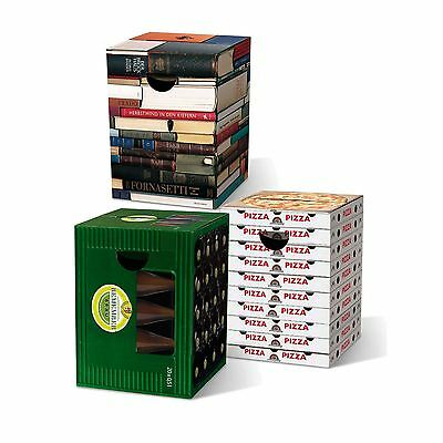 Remember Fold Away Funky Cardboard Stools Novelty Home Accessory