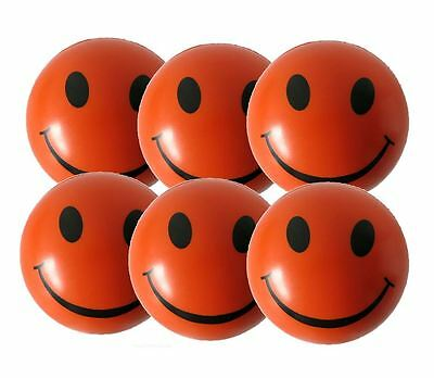 6 x Orange Stress Balls by StressCHECK - Relief from ADHD, Autism, SEN & PTSD