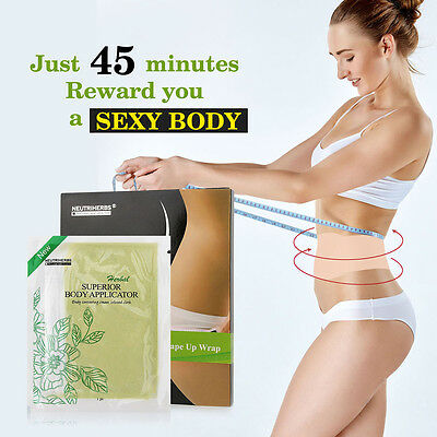 Ultimate Superior Body 5 X Wraps Applicator A Tone Tighter Body Like It Works